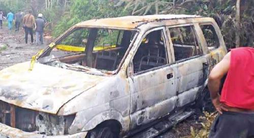 Menghilang dari Rumah, Warga Pekanbaru Ini Belum Ditemukan, Tapi Mobilnya Terbakar di Rantau Berangin