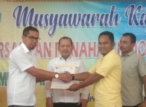 Hingga 2024 Nanti, Nurhisyam Pimpin Perpani Siak