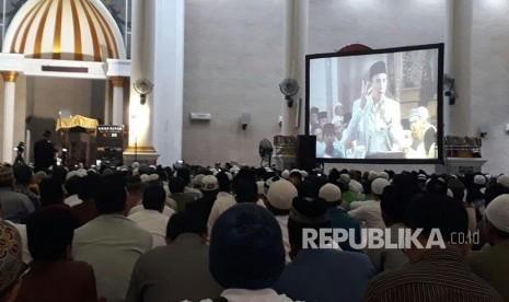 TGB: Kekuatan Indonesia Ada di Masjid-masjid yang Penuh Jamaah