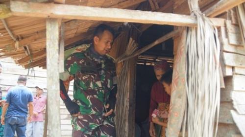 Program Karya Bhakti Kodim 0314 Inhil, 5 Keluarga Tak Mampu di Sungai Luar Bakal Punya Hunian Baru di Idul Fitri