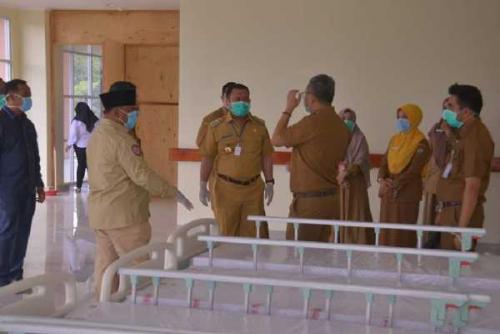 Kampar Siapkan Empat Ruangan Isolasi Pasien Corona di RSUD Bangkinang