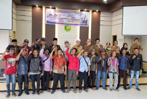 Himpun Aspirasi Masyarakat, Wabup Said Hasyim Pimpin Rakor dan Dialog bersama KAT