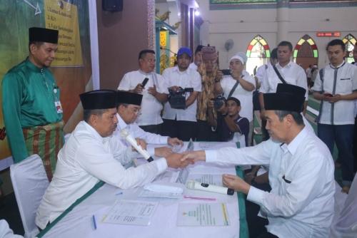 Tiga Jam Gemar Siak Berzakat VI Dibuka Gubernur Riau, Terkumpul Rp 886 Juta