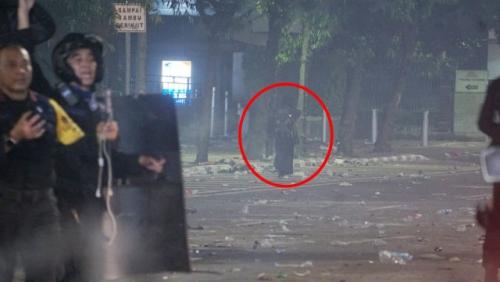 Polisi Ungkap Identitas Wanita Bercadar yang Ditangkap di Kawasan Thamrin Rabu Malam