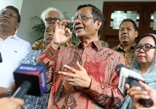 Kata Mahfud MD, Jokowi Mungkin Saja Kalah di MK, Suara Prabowo Jadi 55 Persen