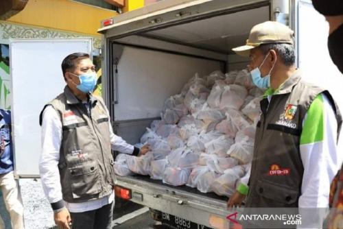 Pemko Pekanbaru Salurkan 60.625 Paket Sembako Tahap III