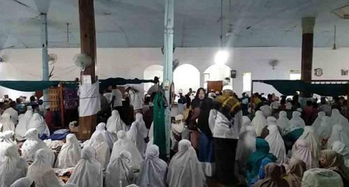 Ratusan Umat Islam Shalat Id di Surau Buya Lubuak Landua Tadi Pagi