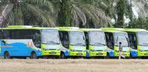 Aneh, Dirut PD Pembangunan Tak Tahu Ada Bus Trans Metro Pekanbaru Tak Layak Pakai