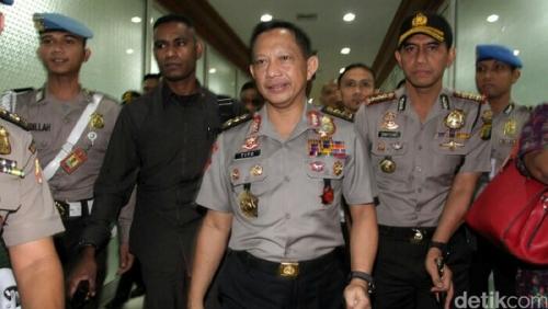 Disetujui Komisi III DPR Jadi Kapolri, Komjen Tito: Ini Cobaan dari Allah, Saya Ingin Lakukan yang Terbaik