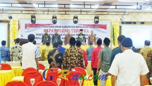 30 Anggota DPRD Terpilih Kepulauan Meranti Resmi Ditetapkan