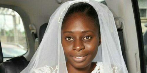 Keberanian Luar Biasa, Gadis Ini Tampil Polos di Hari Pernikahannya