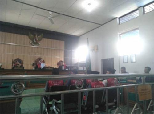 Terdakwa Sabu 37 Kg Bersumpah 7 Keturunan Tidak Terlibat Peredaran Narkoba