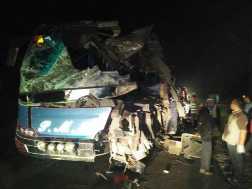 Bus PMH Tabrak Tronton di Rokan Hilir, 6 Penumpang Tewas