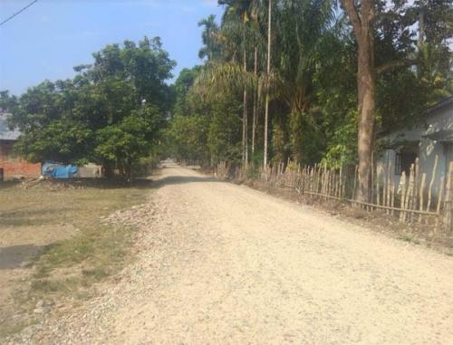 Dewan Minta Pemkab Kampar Segera Menyelesaikan Proyek Pembangunan Jalan di Desa Tanjung