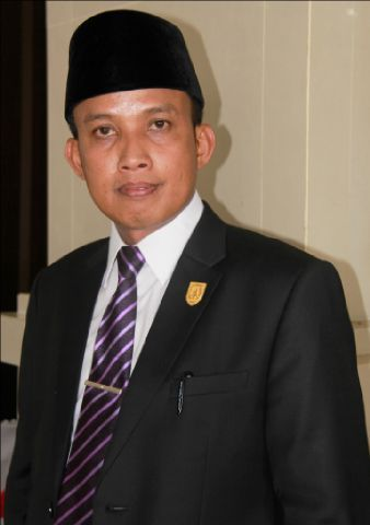 Dani M Nursalam Resmi Pimpin DPRD Inhil Periode 2014-2019