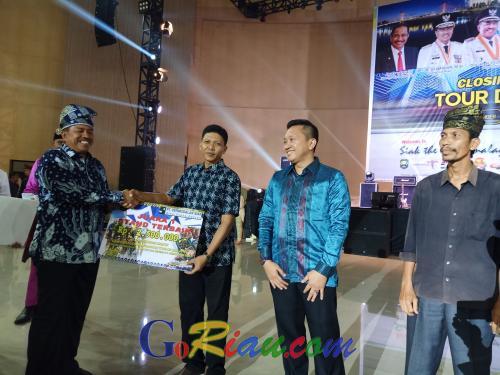 Kecamatan Sungai Mandau Juara 1 Bazar Ekonomi Kreatif Tour de Siak 2019