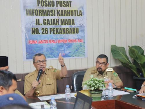 Pemprov Tetapkan Status Keadaan Darurat Pencemaran Udara, DPRD Riau Harap Pusat Serius Membantu Penanganan Karhutla