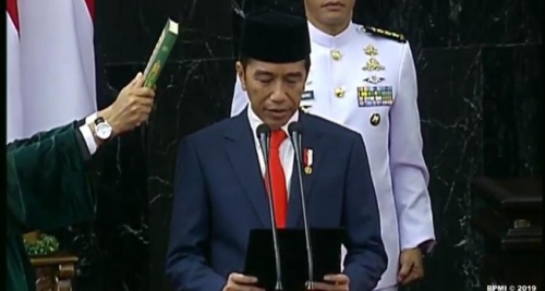 Jokowi Resmi Umumkan Nama-nama Menteri Kabinet Indonesia Maju, Berikut Daftarnya