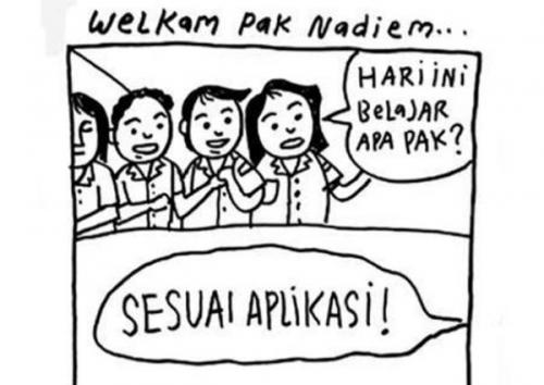 Warganet Riuh, Meme-Meme Kocak Sambut Menteri Pendidikan dan Kebudayaan Nadiem Makarim