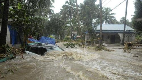 Empat Kecamatan di Solok Selatan Terendam Banjir, 1 Rumah Hanyut