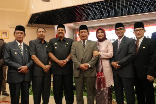 Sangat Bahagia, Alfedri dan Tengku Said Hamzah Hadiri Pelantikan Yan Prana Jaya Sebagai Sekda Provinsi Riau