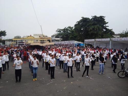 Diikuti Ribuan Peserta, MRSF di Kuansing Berlangsung Meriah
