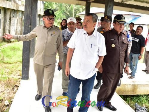Gubernur Riau Syamsuar: Sebelum Saya Ambil Kebijakan, RSUD Tengku Sulung di Inhil Perlu Diaudit Dulu