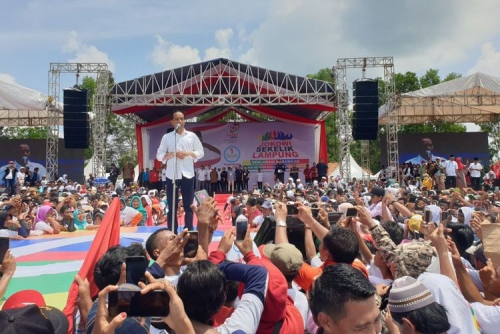 Lusa, Capres 01 Jokowi Direncanakan Kampanye di Dumai dan Dihibur oleh Band Radja