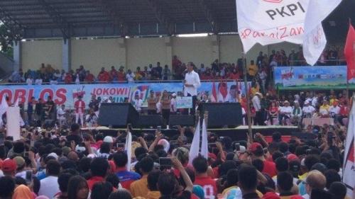 Jokowi Prediksi Menangkan Pilpres 2019, Perolehan Suara 58 Persen