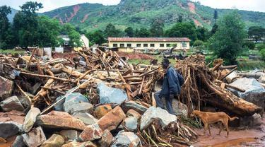 Dalam Sepekan, Badai Siklon Idai Renggut 700 Jiwa