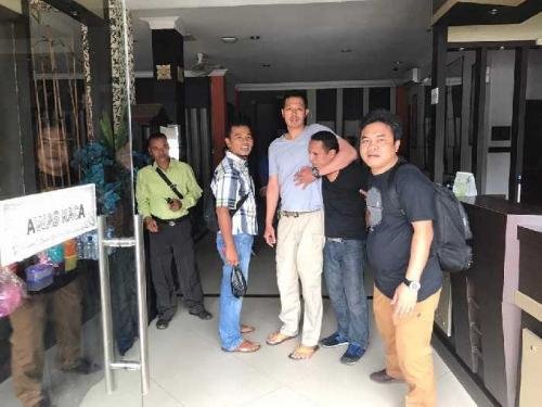 Tim Jatanras Polda Riau Bekuk Warga Asing Asal Peru yang Melarikan Diri dari Sel Pengadilan Negeri Denpasar