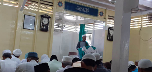 Patuhi Imbauan Pemerintah, Sholat Idul Fitri di Bagansiapiapi Ikuti Protokol Kesehatan