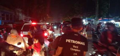 Begini Suasana Malam Takbiran Saat PSBB di Kota Pekanbaru