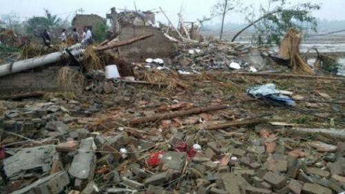 Diterjang Tornado dan Hujan Es, Kota Yancheng Hancur, 78 Tewas dan 500 Luka Parah