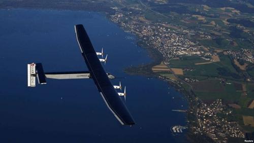 Hebat, Pesawat Tenaga Surya Ini Akhirnya Selesaikan Misi Lintasi Atlantik