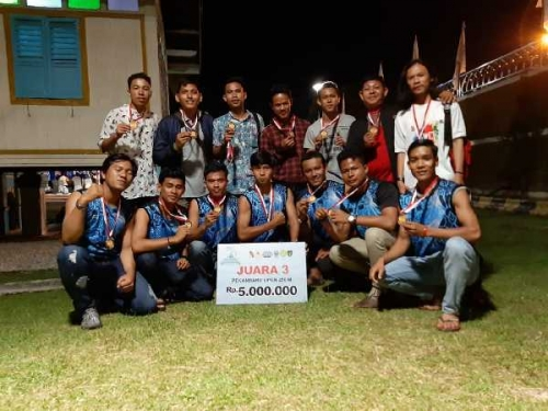 Tim Unilak Raih Juara 3 Dragon Boat Open 2019