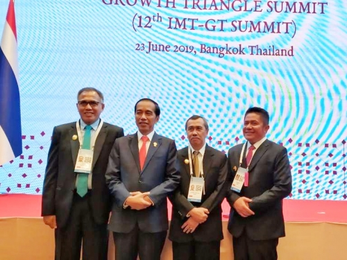 Ini Hasil Pertemuan ke-12 Indonesia - Malaysia - Thailand Growth Triangel di Bangkok Untuk Riau