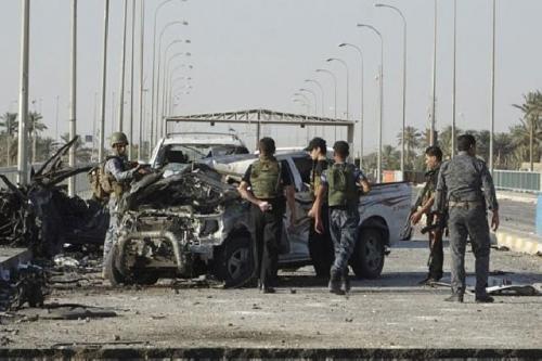 Pelaku Bom Bunuh Diri Ledakkan Rompi di Dekat Pos Keamanan, 11 Tewas