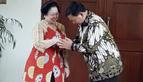 Sowan ke Megawati, Prabowo; Terima Kasih Nasi Gorengnya, Bu