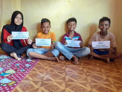 Satu Bulan Jadi Yatim, 4 Bersaudara Ini Sulit Penuhi Biaya Pendidikan