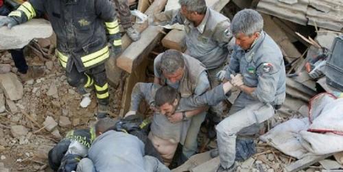 Gempa Italia, Korban Tewas Dekati 80 Orang