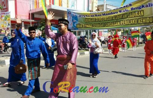 Ini Harapan Camat Djoko kepada Khafilah Mandau Selama MTQ ke-41 Kabupaten Bengkalis di Rupat Utara
