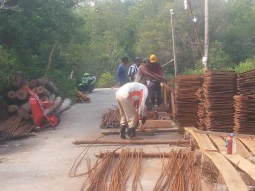 Pembangunan Dermaga di Desa Pelantai Mulai Dikerjakan