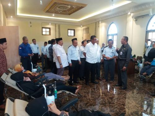 Didukung PLN WRKR, LAM Kota Pekanbaru Buka Posko Kesehatan Darurat Bencana Kabut Asap
