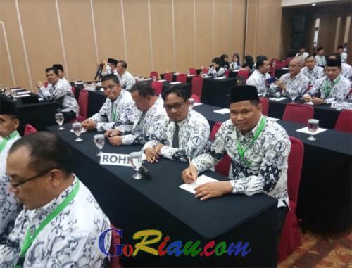 6 Delegasi PGRI Rohil Ikuti ATC+1 dan GPN di Brunai