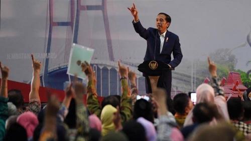 Jokowi Kembali Sebut Politikus Sontoloyo