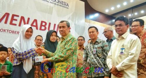 Puncak Bulan Inklusi Keuangan, OJK Ajak Pelajar di Riau Menabung