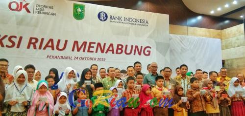 OJK Riau Targetkan 34.000 Pelajar di Riau Miliki Tabungan Simpel