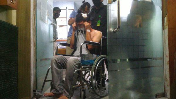 Diduga Satu Kurir Narkoba yang Terlibat Kejar-kejaran di Jalan Soekarno Hatta Pekanbaru adalah Oknum Perwira Polisi