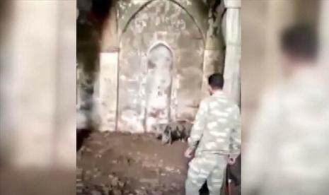 Diduduki Armenia Sejak 1993, Masjid Bersejarah di Azerbaijan Dijadikan Kandang Babi